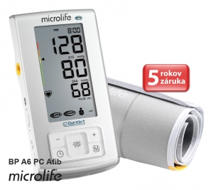 MICROLIFE TLAKOMER BP A6 PC AFIB 1 kus