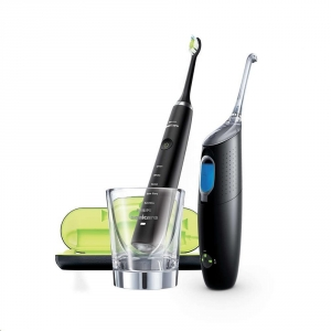 Philips Sonicare DiamondClean Black + Philips Sonicare Airfloss Ultra Black